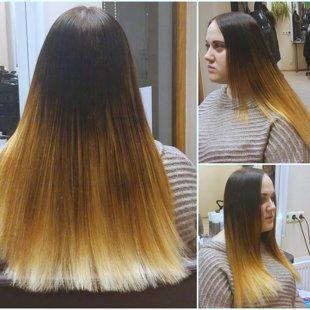 meistare Līvija    -    matu krāsojums